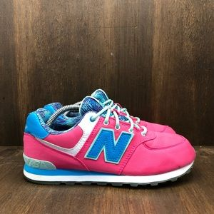 New Balance 574 Pink Sneakers